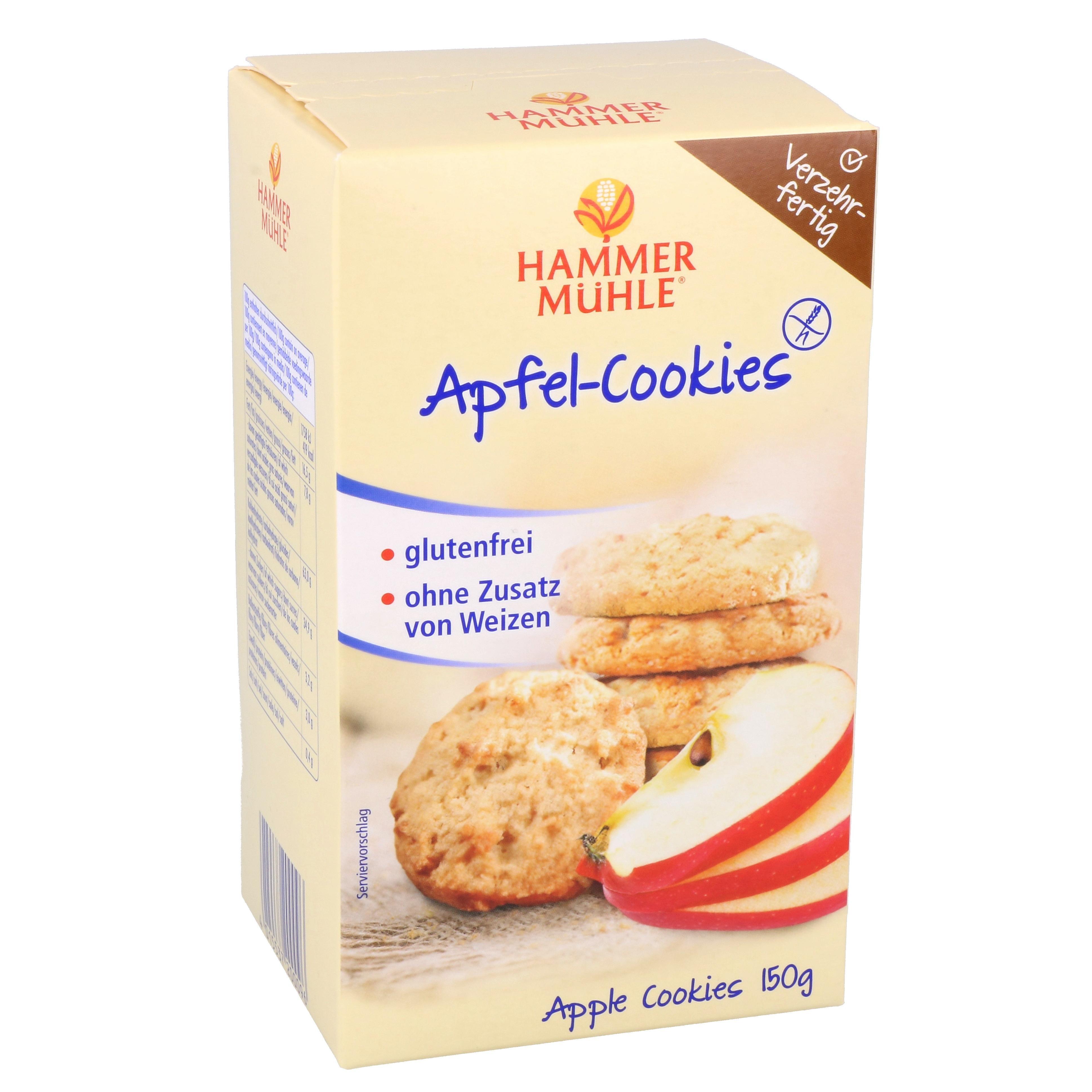 Hammermühle Apfel-Cookies 150g
