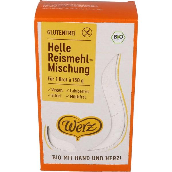 Werz Bio Helle Reismehl-Mischung 500g