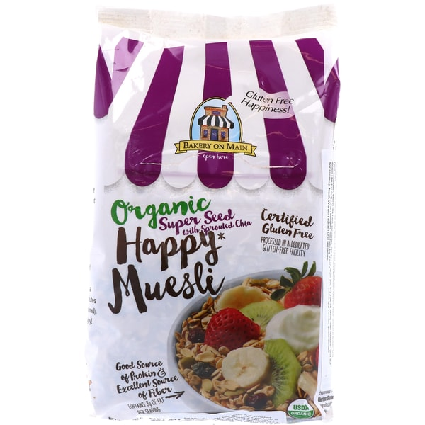 Bakery on Main Organic Happy Muesli Super Seed with Sprouted Chia 397g
