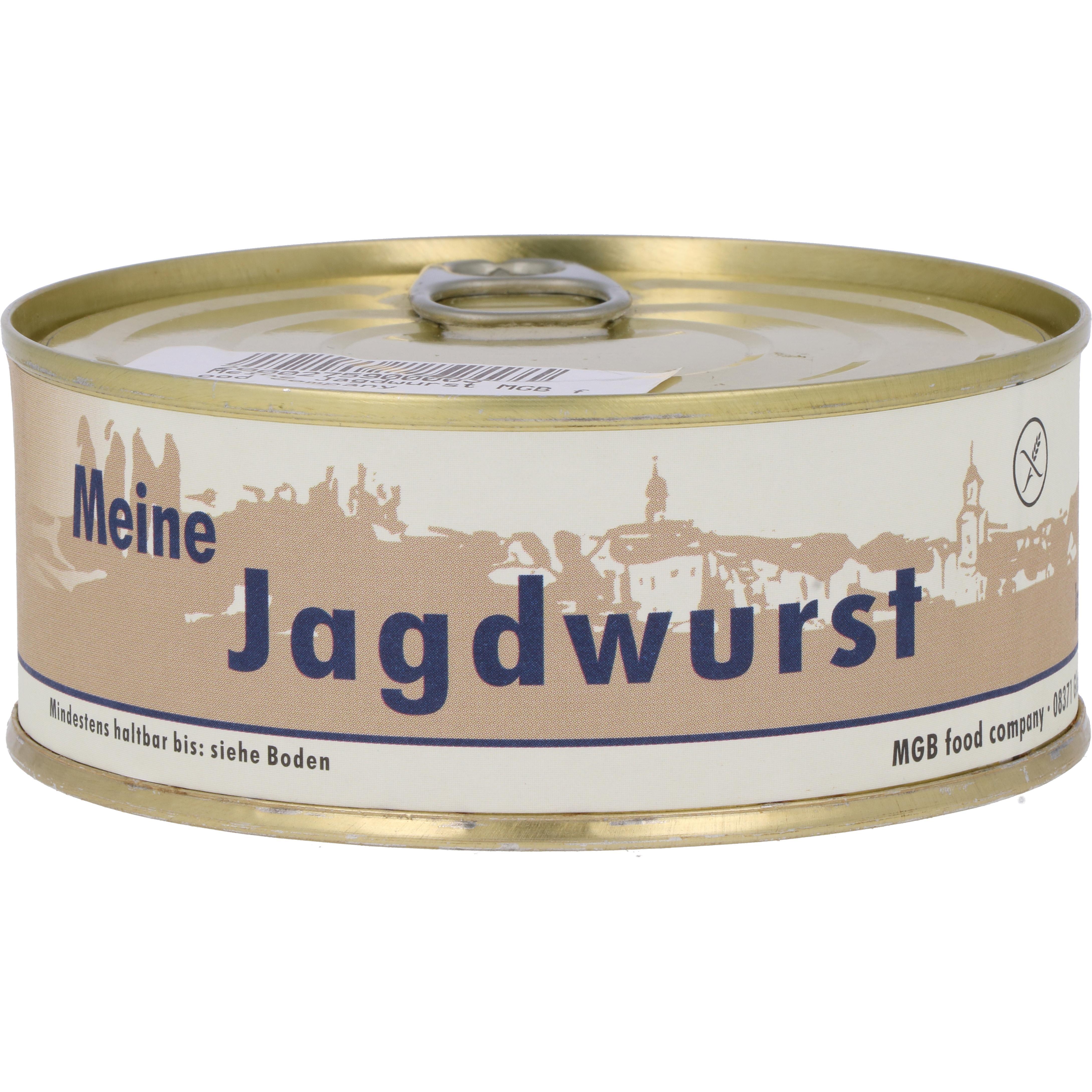 MGB food company Meine Jagdwurst 220g