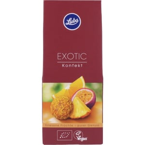 Lubs Bio Exotic Konfekt 80g