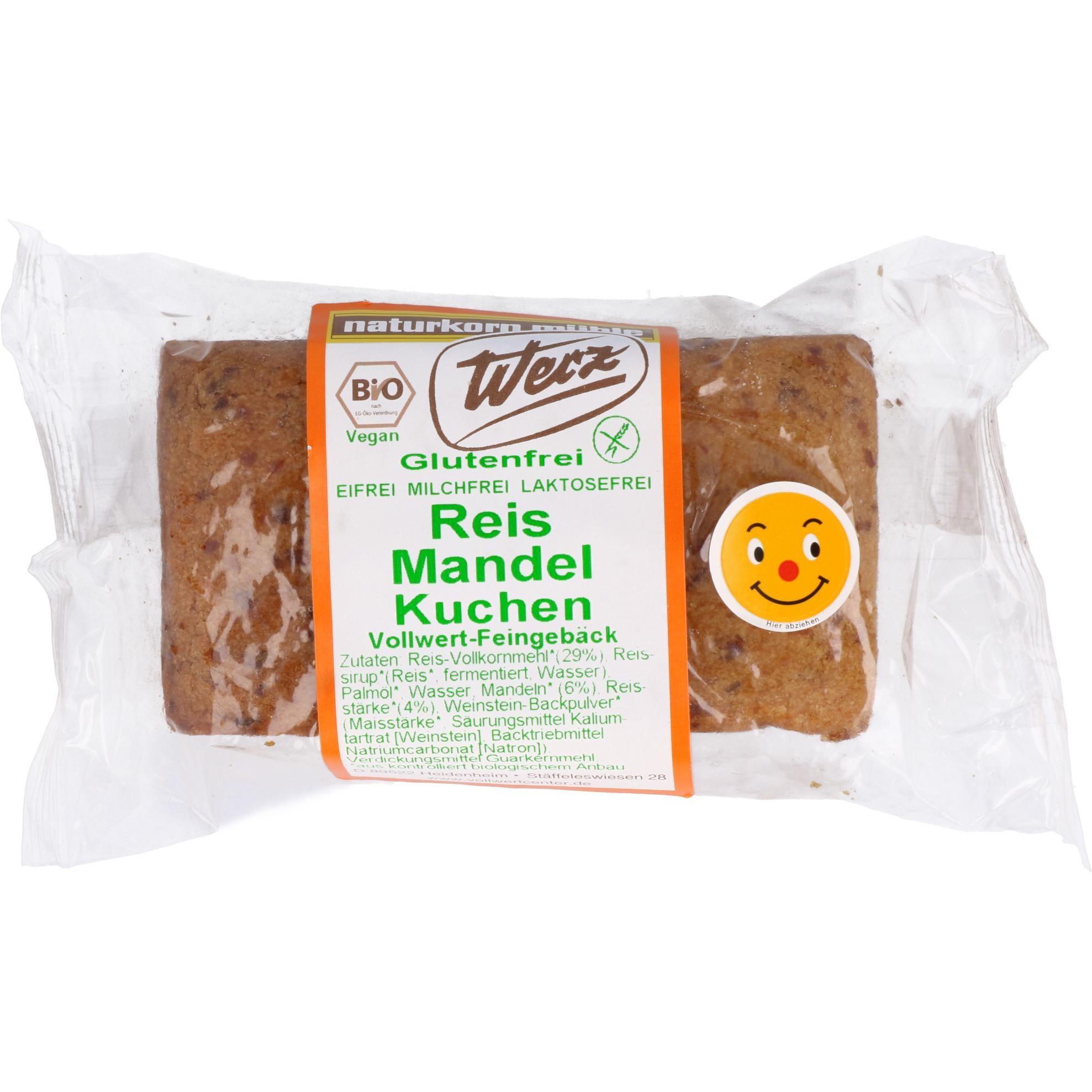 Werz Bio Reis Mandel Kuchen 300g