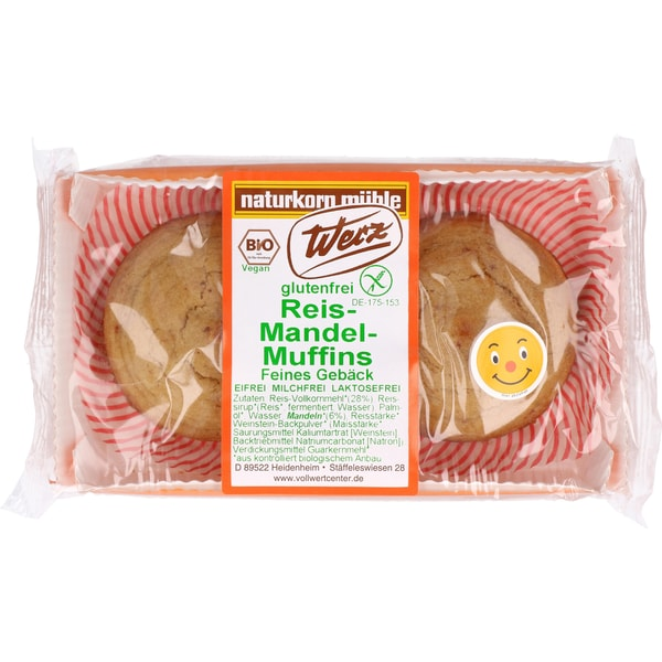 Werz Bio Reis Mandel Muffins 100g