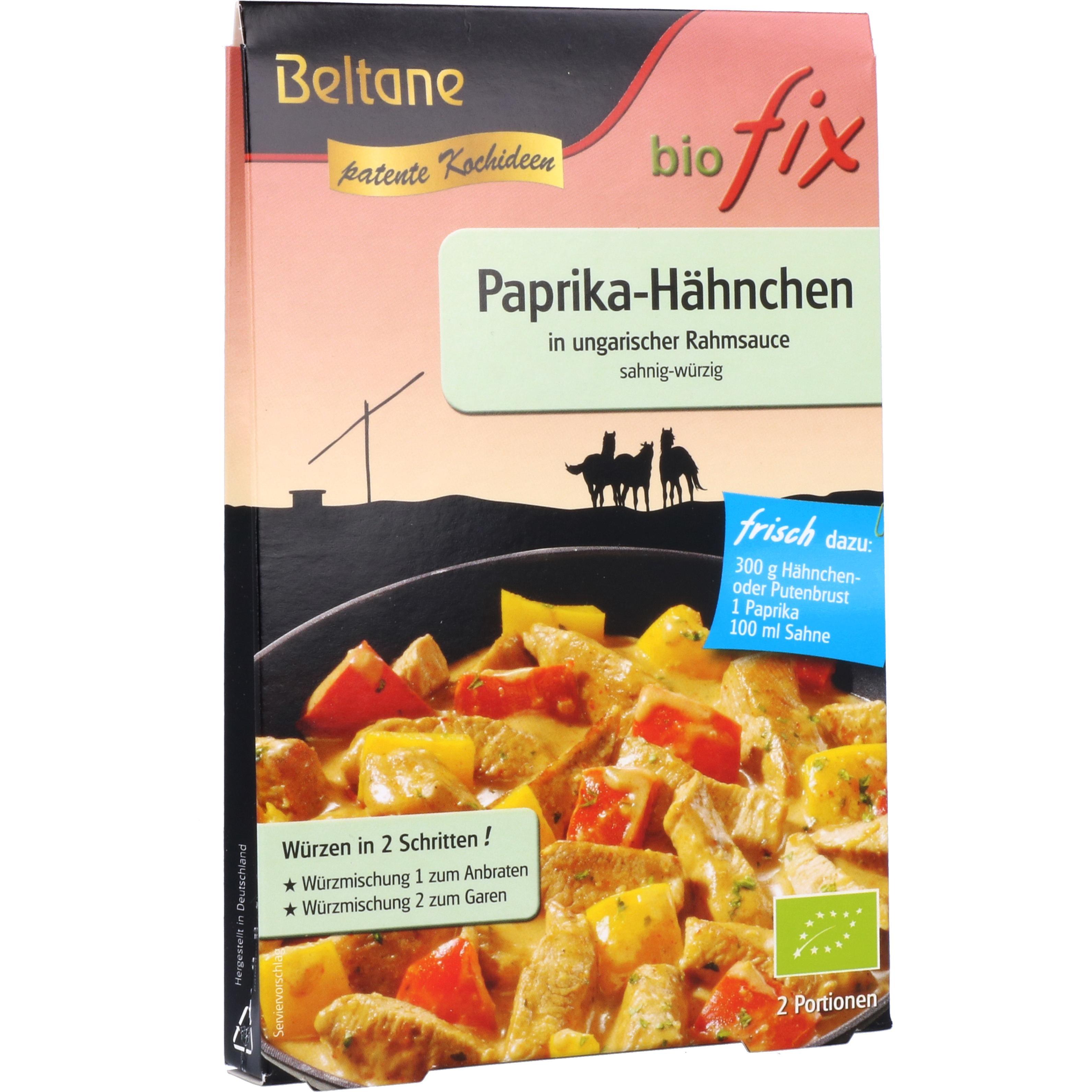 Beltane Bio Fix Paprika-Hähnchen 19g