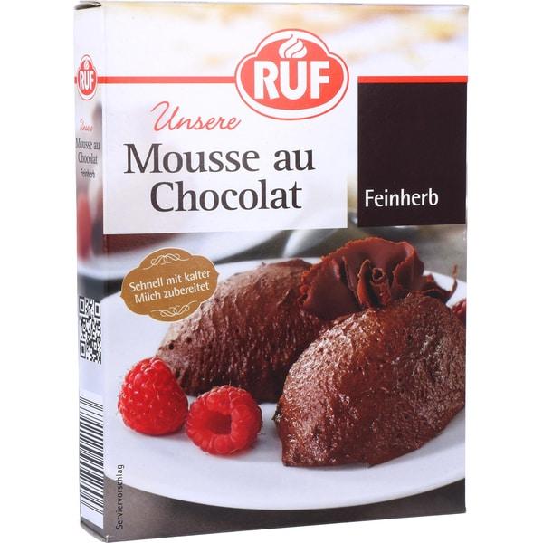 Ruf Mousse au Chocolat, feinherb 100g
