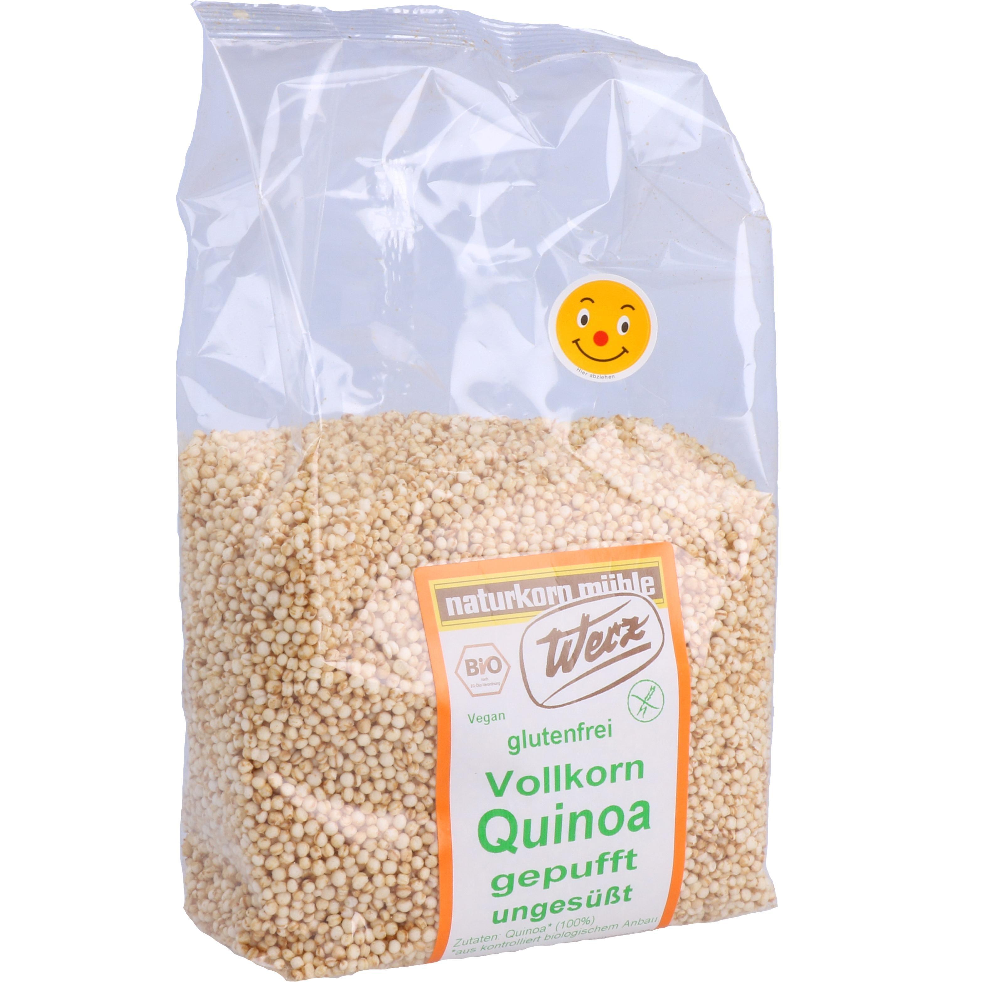Werz Bio Vollkorn Quinoa gepufft, ungesüßt 125g