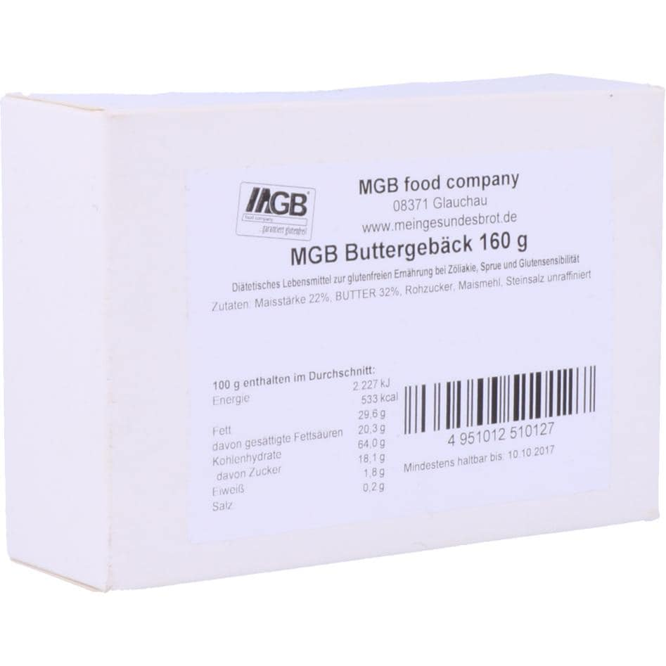 MGB food company Buttergebäck 160g
