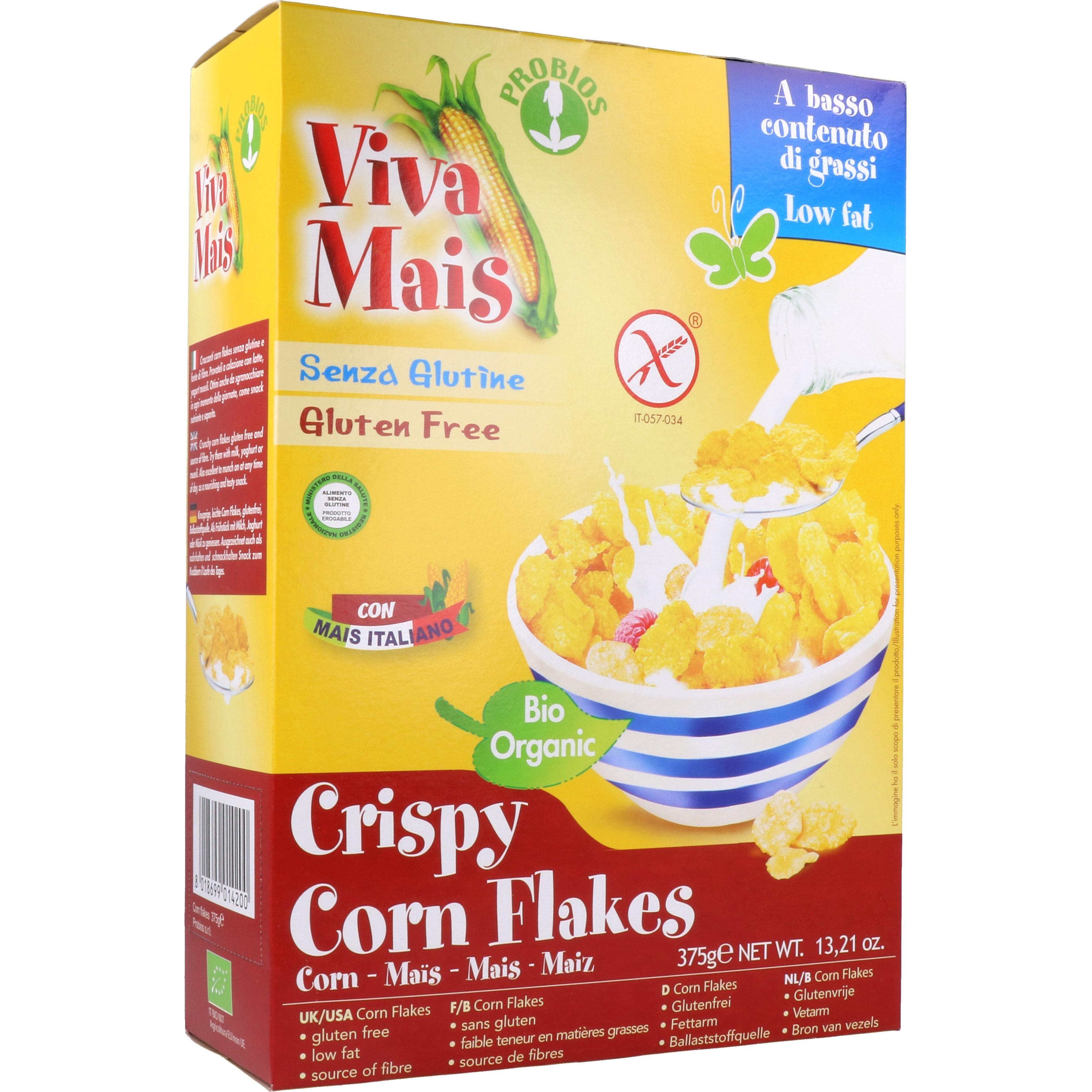 Probios Bio Crispy Corn Flakes 375g