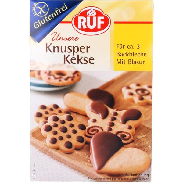 Ruf Backmischung Knusper Kekse mit Glasur 475g