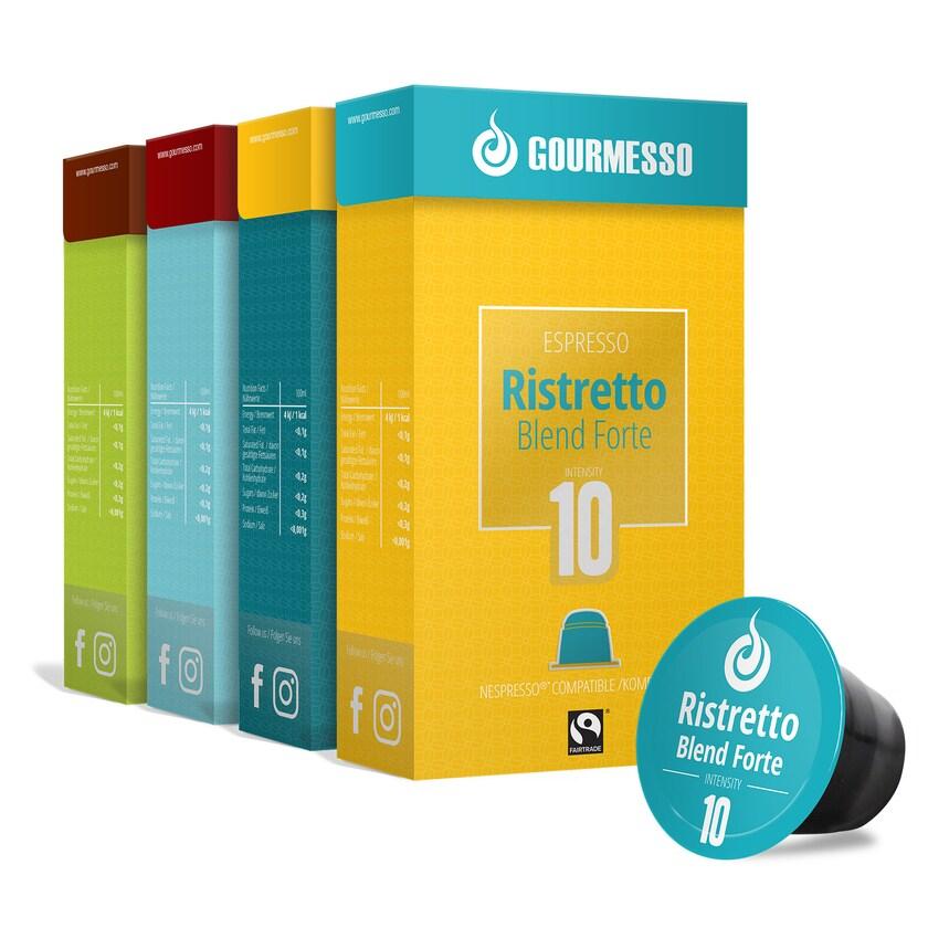Gourmesso Espresso Box 10 Sorten 1320g, 300 Kapseln