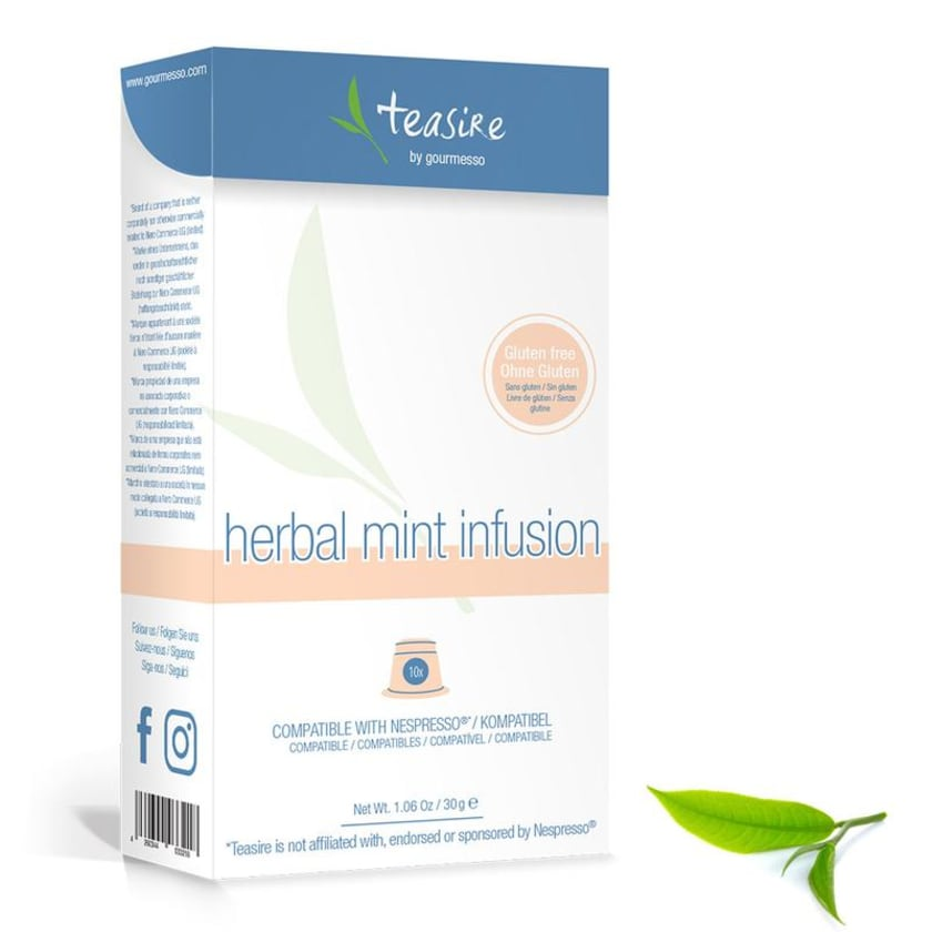 Gourmesso Tee Herbal Mint Infusion 30g, 10 Kapseln