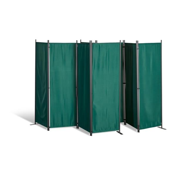 Grasekamp 2 Stück Paravent 4-tlg. Grün