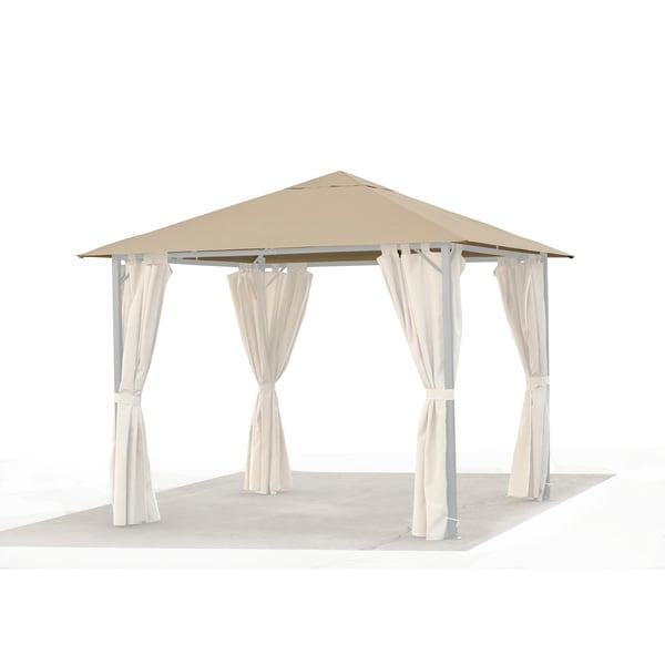 Grasekamp Ersatzdach 3x3m Gartenpavillon Nizza Sand