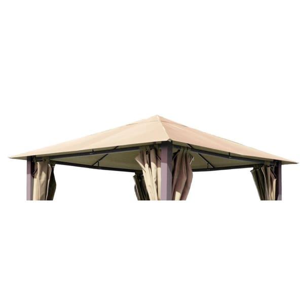 Grasekamp Ersatzdach zu Pavillon Paris 3x3m Sand