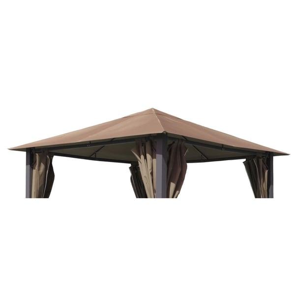 Grasekamp Ersatzdach zu Pavillon Paris 3x3m Taupe