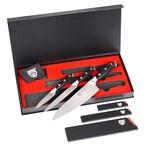 GRÄWE Messerset, Spezialstahl schwarz 3