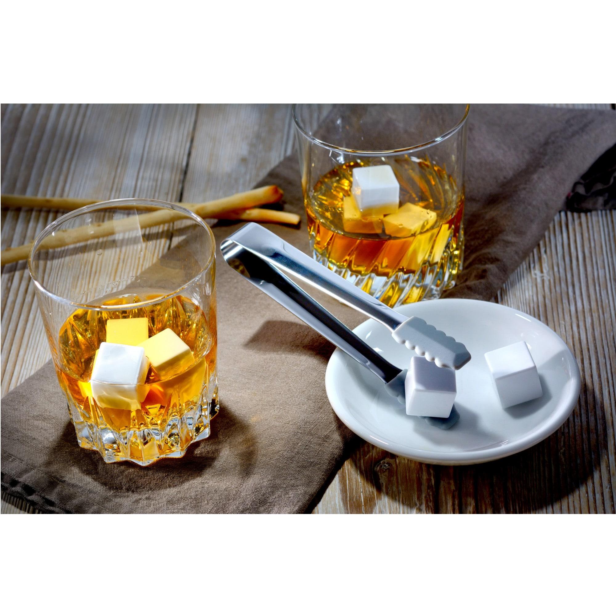 GRÄWE Whiskeysteine-Set weiß 12-teilig