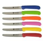 Gräwe Brötchen- Frühstücksmesser mehrfarbig 6-teilig