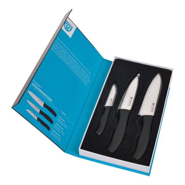 GRÄWE Keramik-Messerset CERAHOME weiß 3er Set