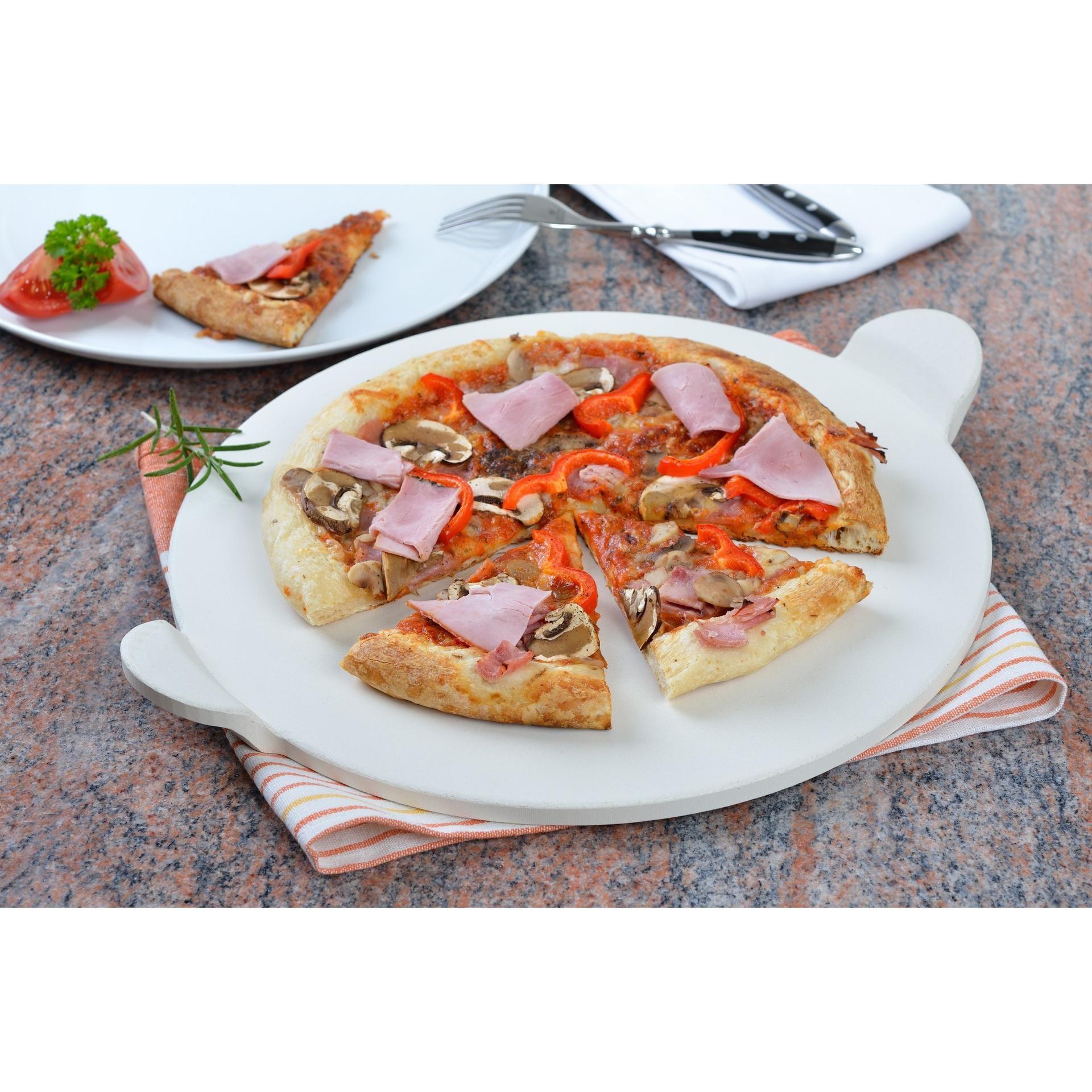 GRÄWE Pizzastein-Set mit Pizzaheber 4-teilig