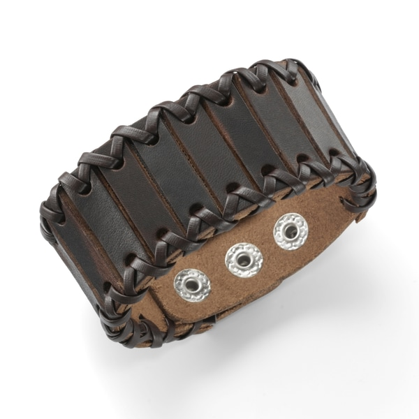 Jacques Charrel Armband mit Druckknopfverschluß