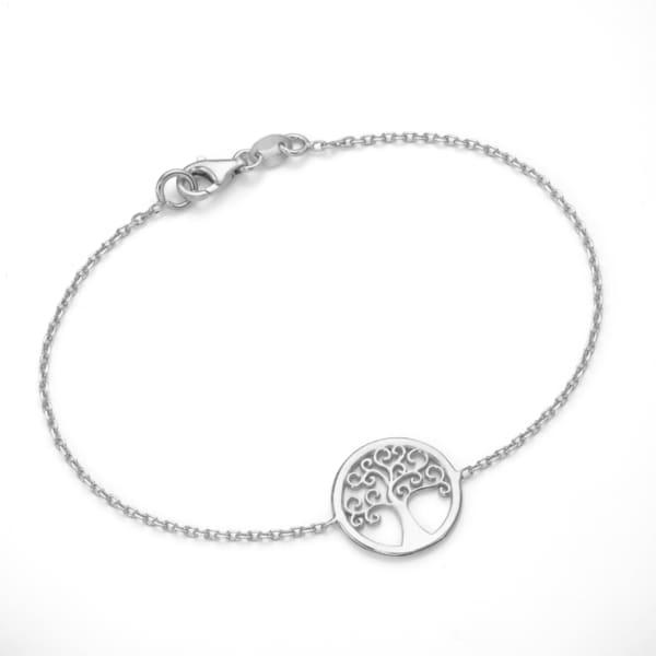Smart Jewel Armband Lebensbaum, Silber 925