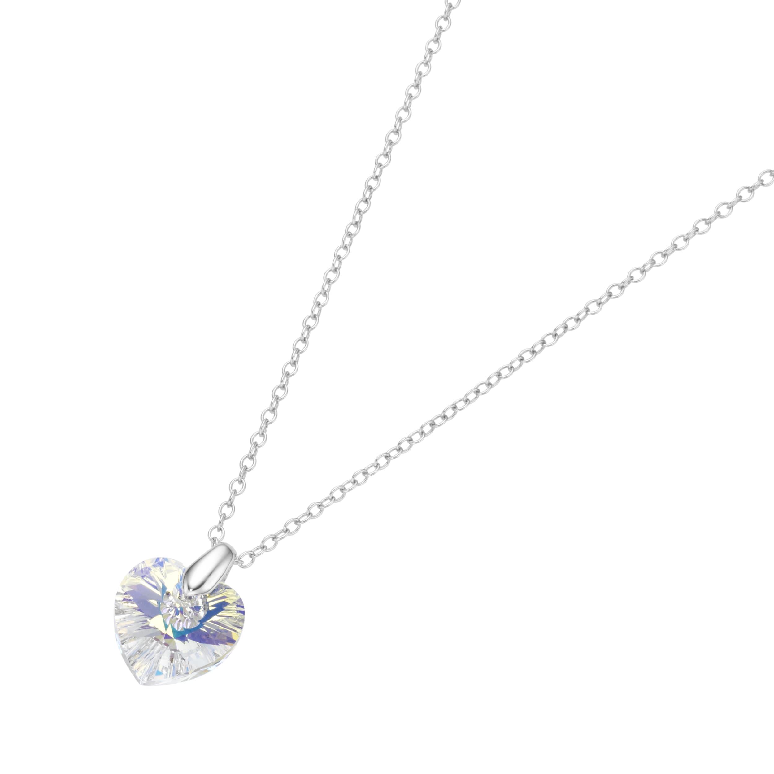 Smart Jewel Kette mit Swarovski Stein in Herzform