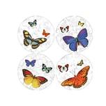 HTI-Line Untersetzer 4-tlg Schmetterling