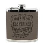 HTI-Living Echter Kerl Flachmann Elektriker