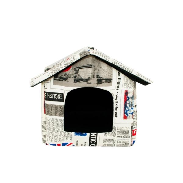 HTI-Line Hundehaus Newspaper