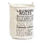 HTI-Living Wäschesammler Laundry Rules
