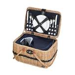 Cilio Picknickkorb für 4 Personen IDRO
