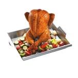 GEFU Gemüse- und Hähnchengriller mit Schaschlik-Rack BBQ