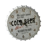 HTI-Line Wanduhr Cold Beer