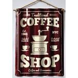 HTI-Line Blechschild Coffee