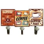 HTI-Line Garderobenhaken Coffee