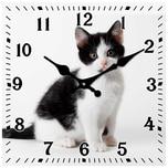 HTI-Line Tischuhr Katze