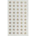 Paper Poetry Sticker Sterne Glitter gold 4 Blatt 10mm