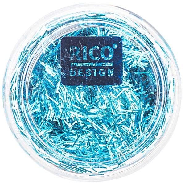Rico Design Stäbchen Glitter 4g türkis