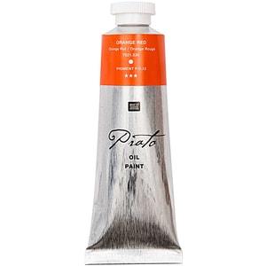 Rico Design Prato Ölfarbe 60ml orangerot