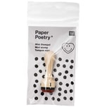 Paper Poetry Mini-Stempel Smiley happy heart