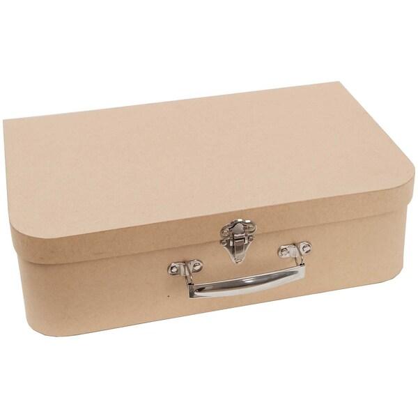 Rico Design Koffer natur 35x10x22,4cm Pappe