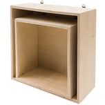 Rico Design Holzbox Set quadratisch 2teilig