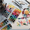Rico Design Basic Pearl Water Colours Wasserfarbkasten 12 Farben