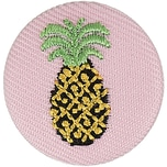 Jewellery Made by Me Button Ananas 25mm
