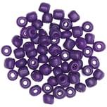 Jewellery Made by Me Keramik-Perlen natur lila 5mm 12g