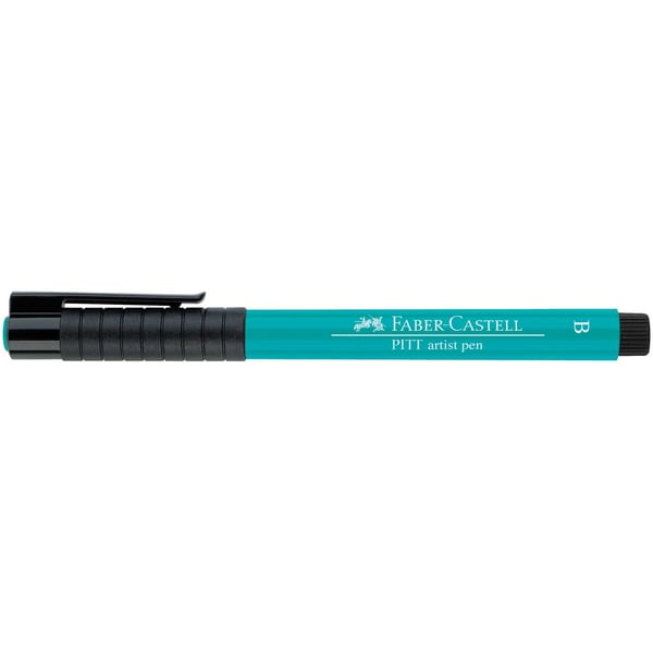 Faber Castell PITT artist pen brush kobaltgrün