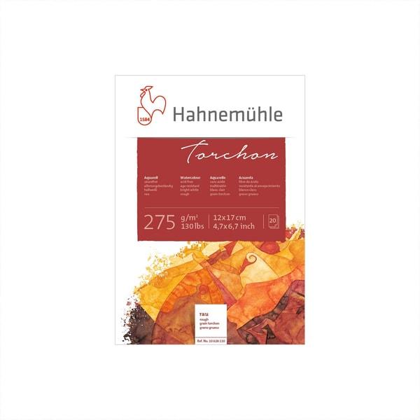 Hahnemühle Aquarellblock Torchon 12x17cm 275g/m² 20 Blatt