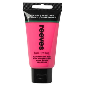 reeves Acrylfarbe 75ml fluoreszierend pink