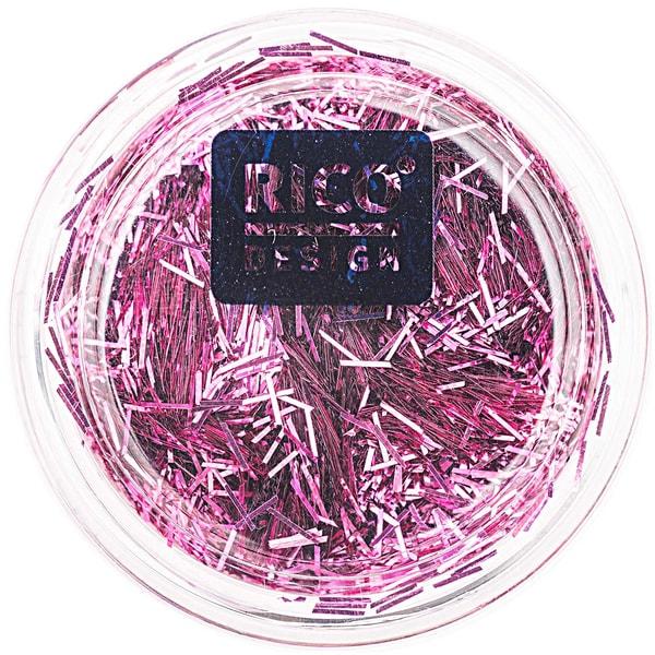 Rico Design Stäbchen Glitter 4g pink